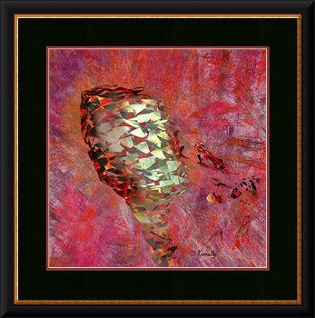 Sirocco, framed giclee