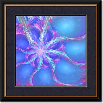 Connections-a framed giclee art print