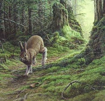 "Pierre Leduc art print ""Green Carpet"""