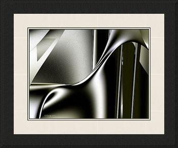 Giclee print 'Sinuosity', sensuous art by Kinnally