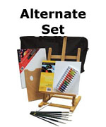 Art supplies, oil painting sets
