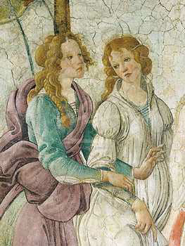 Art print �Venus Et Les Trois Graces (Detail)� by Sandro Botticelli; Venus and the Three Graces