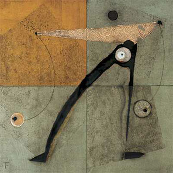 Art print �Leon IV� by Tanguy Flot; modern art