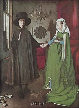 Art print �Marriage Of Giovanni Arnolfini� by Jan Van Eyck