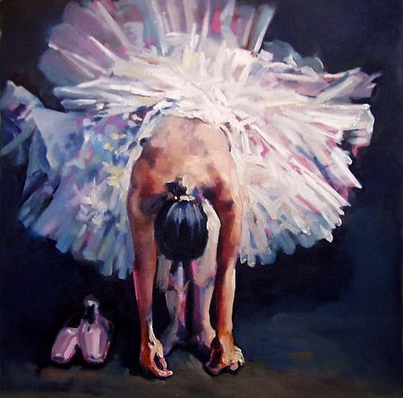 Giclee Prints, art prints of a ballet dancer, Dance 9 by Anthony Barrow