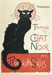 Tournee Du Chat Noir&#13;&#10;by Theophile Alexandre Steinlen