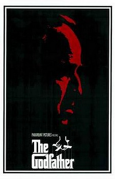 Movie posters, movies, movie poster, framed art, posters, The Godfather, crime films, crime movies, violent films, violent movies.