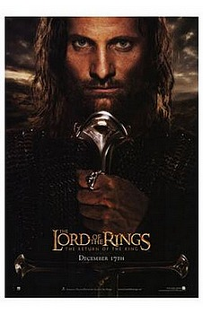 Movie posters, movies, movie poster, framed art, posters, Lord of the Rings: Return of the King, epic films, epic movies, drama films, drama movies, epic drama.