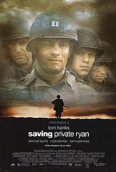 Movie posters, movies, movie poster, framed art, posters, Saving Private Ryan, war movies, war films, Tom hanks