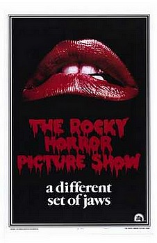 Movie posters, movies, movie poster, framed art, posters, The Rocky Horror Picture Show, crime films, crime movies, violent films, violent movies.