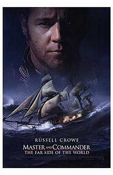 Movie posters, movies, movie poster, framed art, posters, Master and Commander, war movies, war films, Russell Crowe