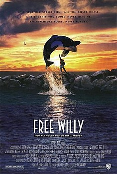 Movie posters, movies, movie poster, framed art, posters, Free Willy, family films, family movies, g-rated movies.