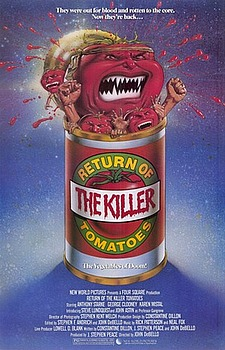 Return of the Killer Tomatoes! movies
