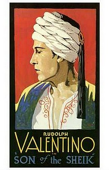 Movie posters, movies, movie poster, framed art, posters, The Son of the Sheik, romance movies, romance films, Rudolph Valentino