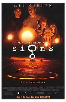 Signs Movie poster size