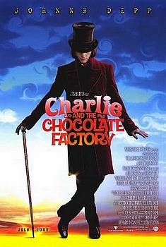 Movie posters, movies, movie poster, framed art, posters, Charlie and the Chocolate Factory, family films, family movies, g-rated movies.
