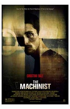 Movie posters, movies, movie poster, framed art, posters, The Machinist, thrillers, scary movies, scary films