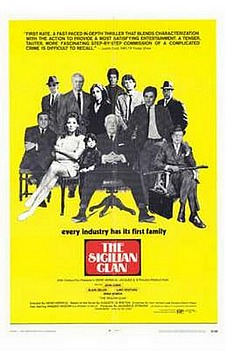 Movie posters, movies, movie poster, framed art, posters, The Sicilian Clan, foreign films, foreign movies, the mob, mafia movies.