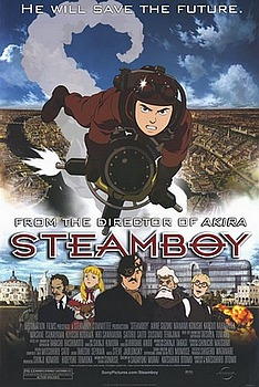 Movie posters, movies, movie poster, framed art, posters, Steamboy, animation, cartoons.