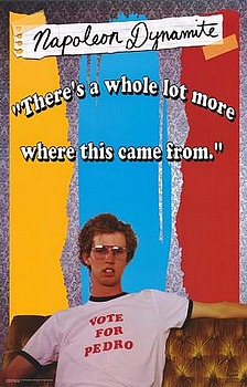 Movie posters, movies, movie poster, framed art, posters, Napoleon Dynamite, comedy, comedies, comedy films, comedy movies.