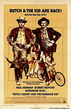 Movie posters, movies, movie poster, framed art, posters, Butch Cassidy and the Sundance Kid, western movies, western films, westerns, Paul Newman, Robert Redford, Katharine Ross